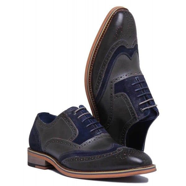 Justin Reece - Fred Grey Brogue