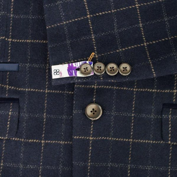 Shelby 'Peaky Blinders' Inspired Navy Tweed Suit