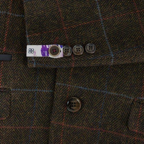 Tommy 'Peaky Blinders' Inspired 3 Piece Mens Tweed Brown Suit